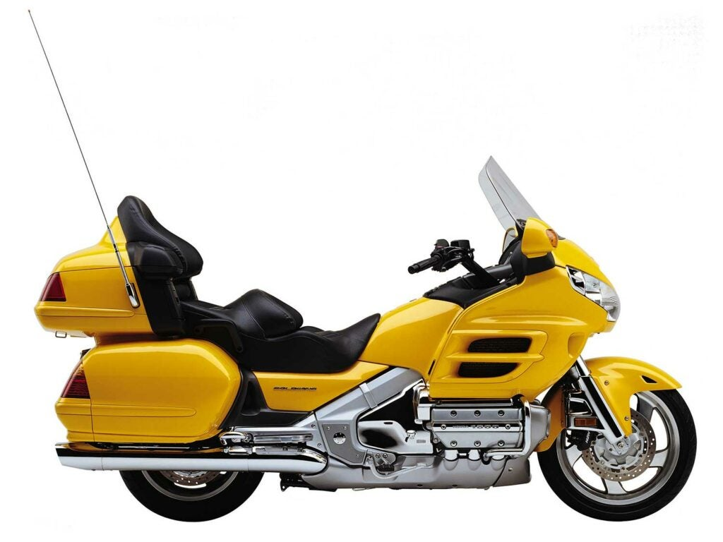 The 2001 Honda Gold Wing is still an amazingly competent motorcycle. In the right hands, it can put to shame many sportier bikes in the twisties.