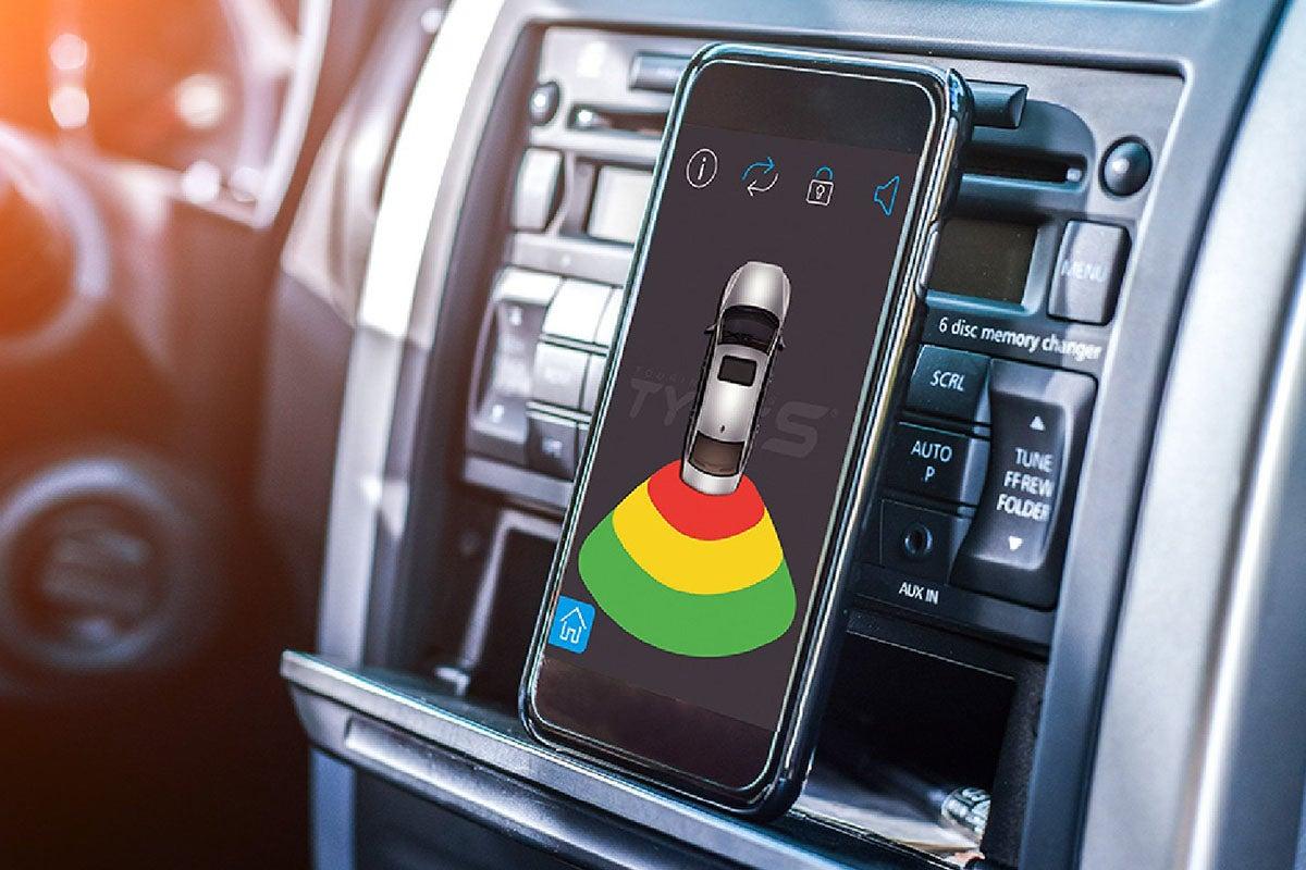 Light Smart Solar Powered Parking Sensor