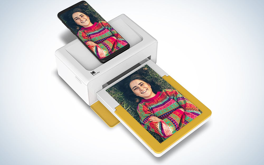 Kodak Dock Plus Instant Photo Printer – Bluetooth Portable Photo Printer Full Color Printing – Mobile App Compatible with iOS and Android