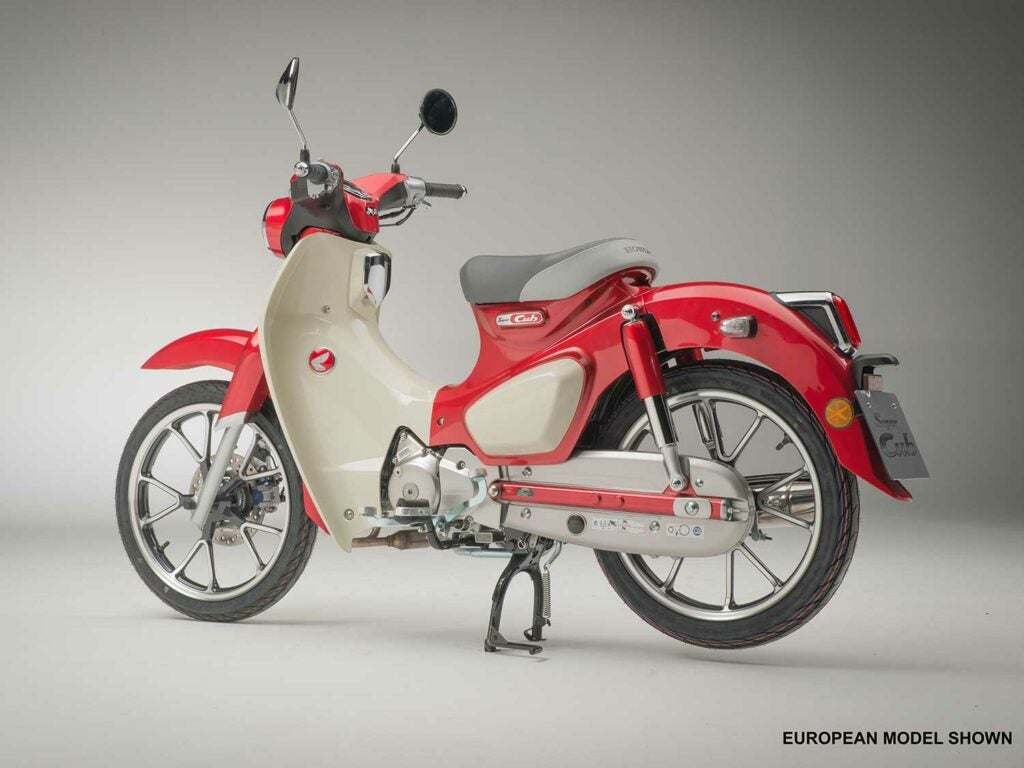 The 2020 Honda Super Cub C125 ABS. The latest version of the most used motor vehicle in the world.