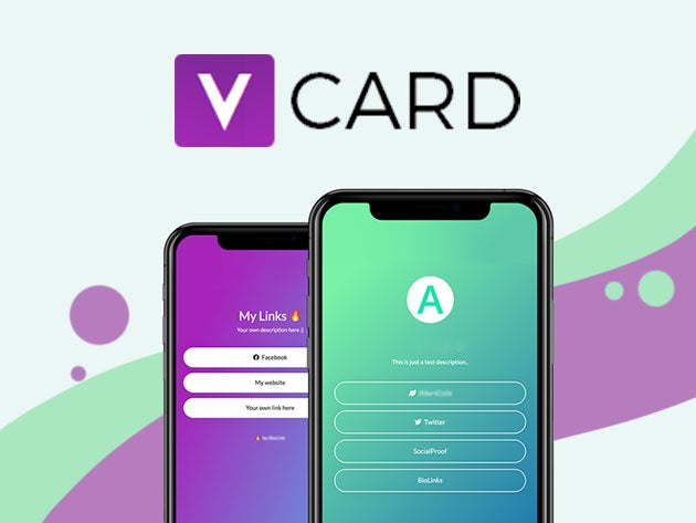 vCard: Your Virtual Business Card (Lifetime Subscription)