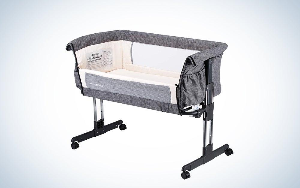 Mika Micky Bedside Sleeper Easy Folding Portable Crib
