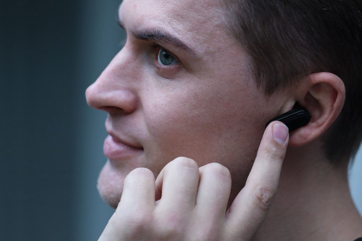 2-in-1 Compact Smart Fit Watch & Bluetooth Earpods