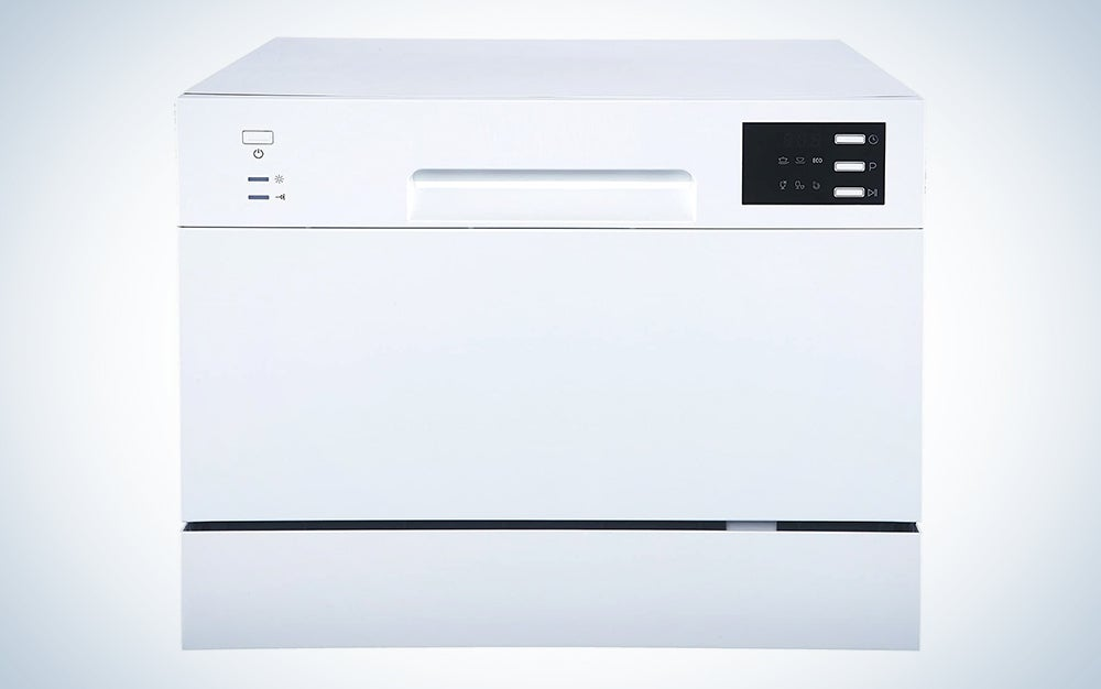 SPT SD-2225DW Compact Countertop Dishwasher/Delay