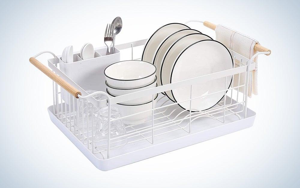 Boxywox Modern Wood Handle Dish Racks