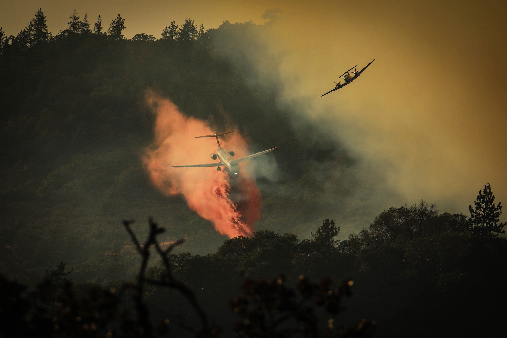 air tanker firefighting