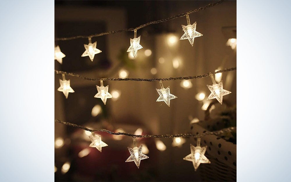 Twinkle Star 100 LED 49 FT Star String Lights