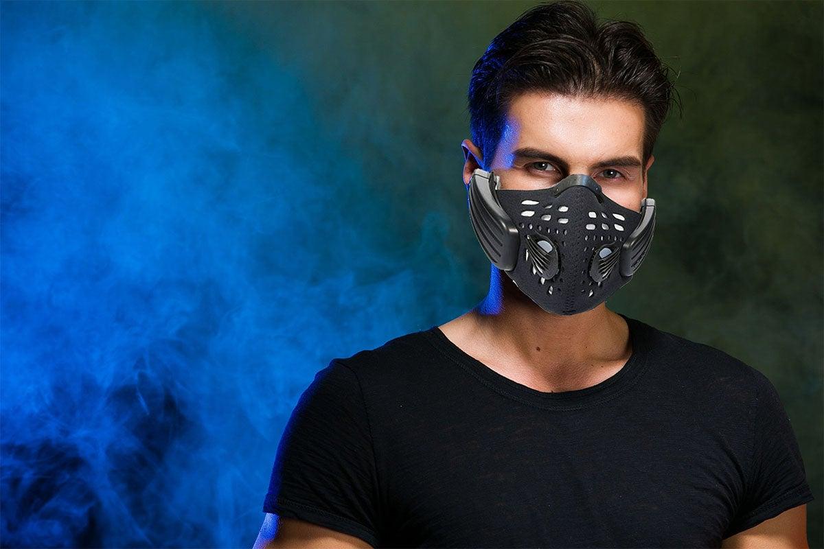 The Bone Conduction Audio Mask