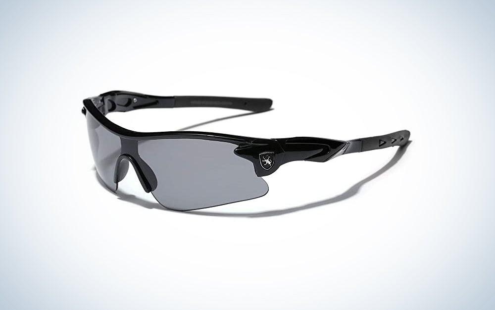 Khan Kids Teen Age 8-16 Performance Sport Wrap Around Sunglasses Cycling Baseball Bike Sun Glasses
