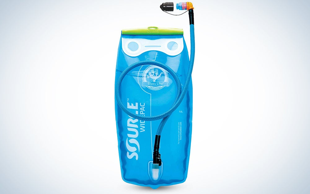 Source Outdoor Widepac Hydration System Reservoir with Helix Bite Valve