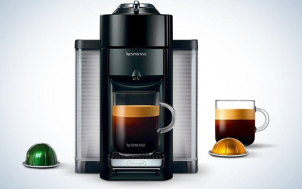 Nespresso by De'Longhi ENV135B Coffee and Espresso Machine by De'Longhi