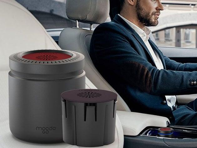 MoodoGo® Portable Fragrance Diffuser + 1 Sea Breeze Capsule