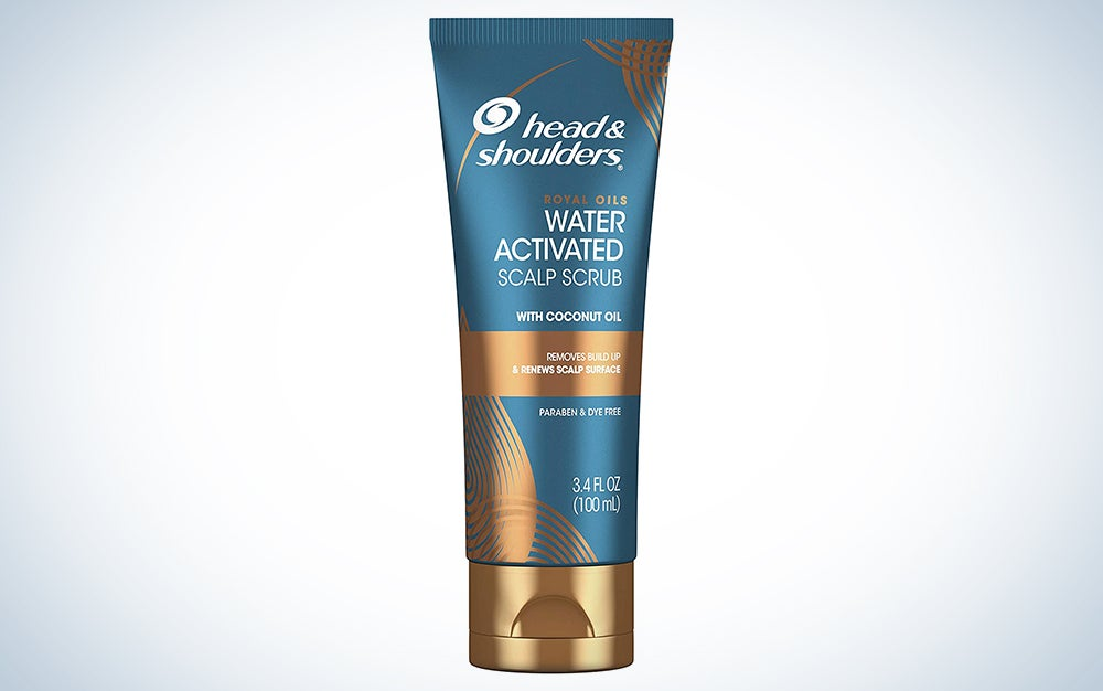 Head & Shoulders Royal Oils Water Activated Scalp Scrub, With Coconut Oil