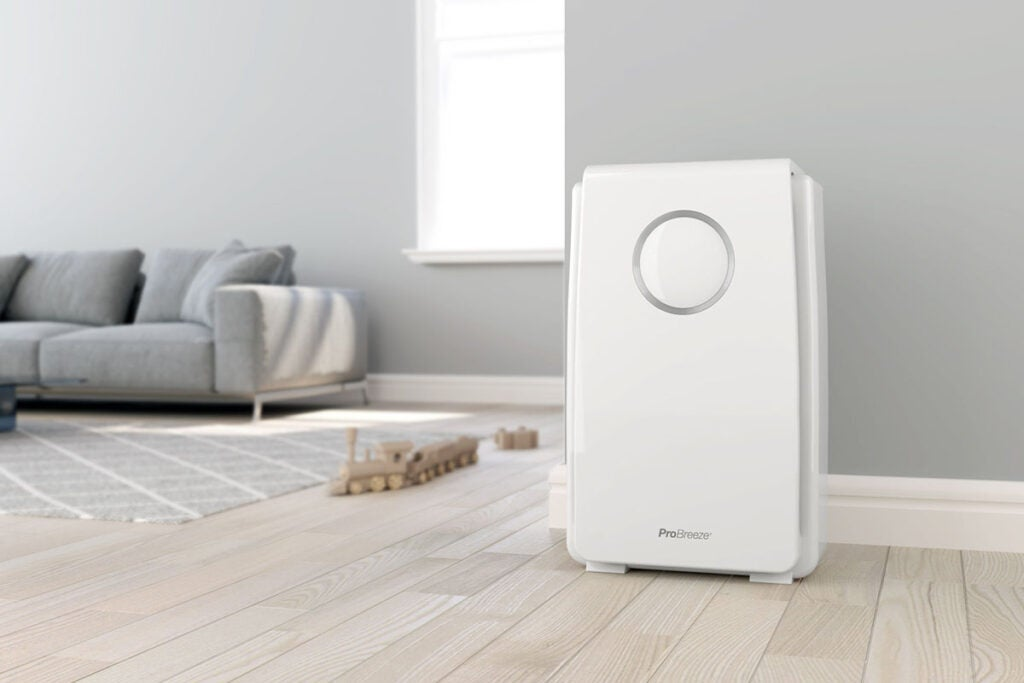 5-in-1 Air Purifier with HEPA Filter & Negative Ion Generator