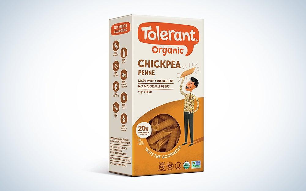 Tolerant Organic Gluten Free Chickpea Penne Pasta