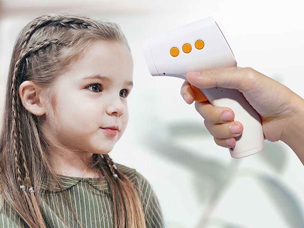iRyno Infrared Forehead Digital Non-Contact Thermometer