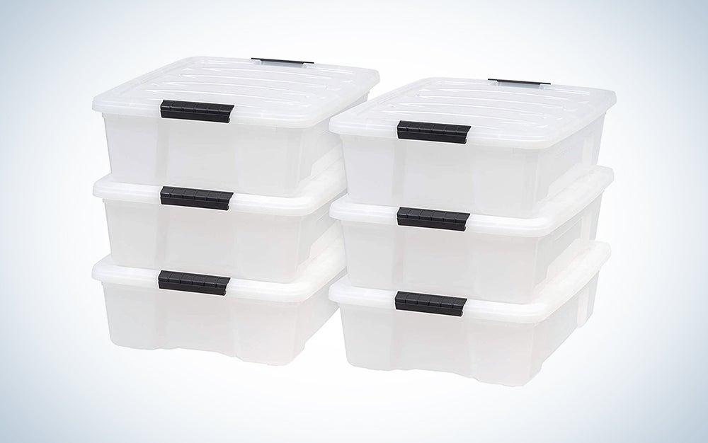 Iris USA, Inc TB-56 26.9 Quart Stack & Pull Box, Multi-purpose Storage Bin