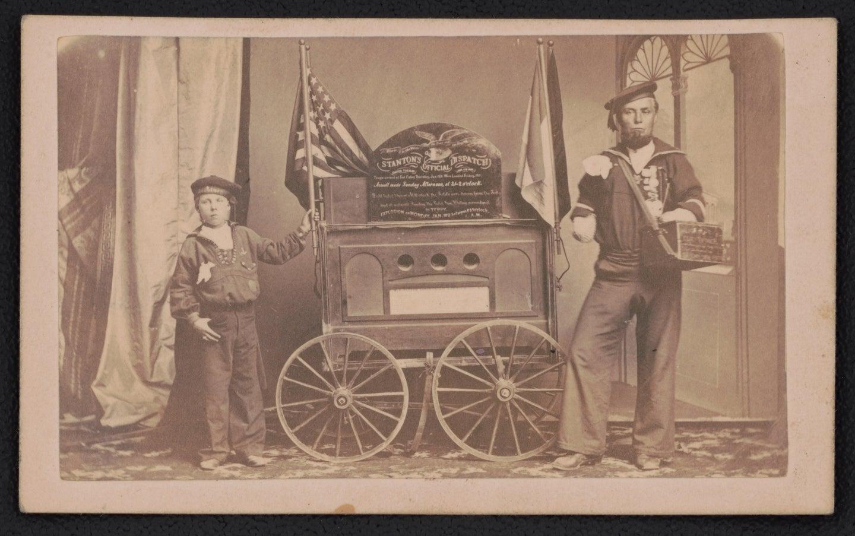 Civil War medical dispatch