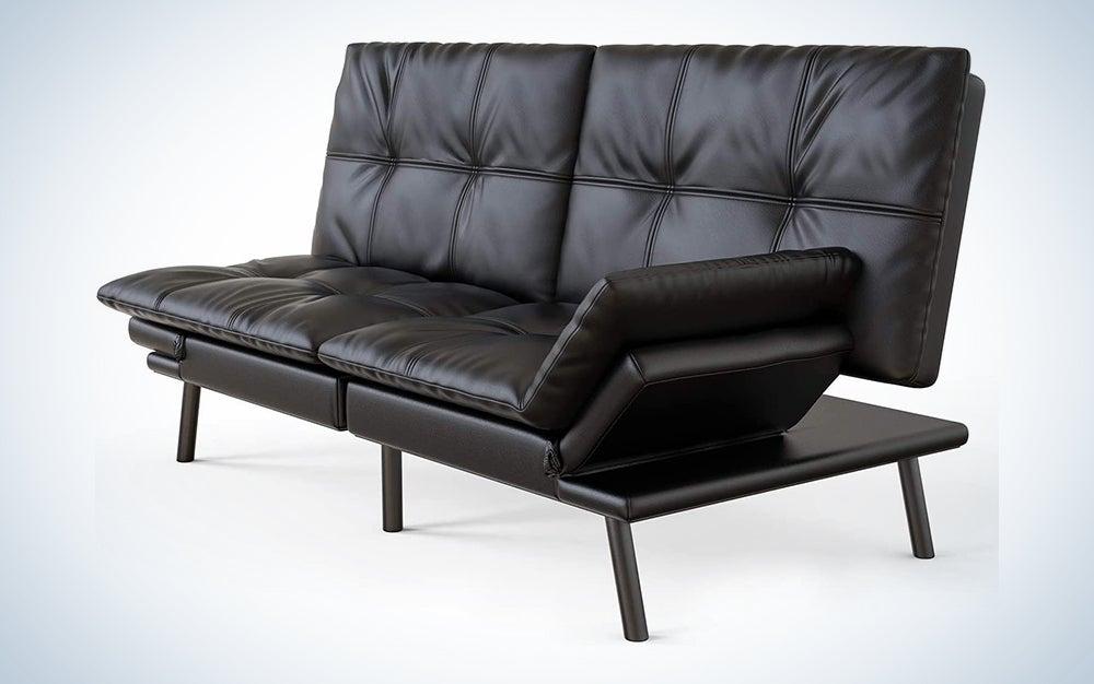 Futon Sofa Bed Memory Foam Couch Sleeper