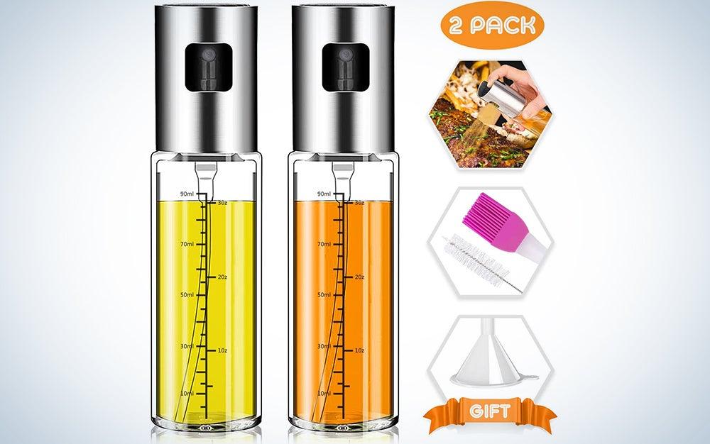 Olive Oil Sprayer, Norbase 2pack Oil Dispenser Mister