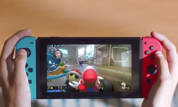 The next Mario Kart game for the Switch involves an actual vehicle zooming around your living room