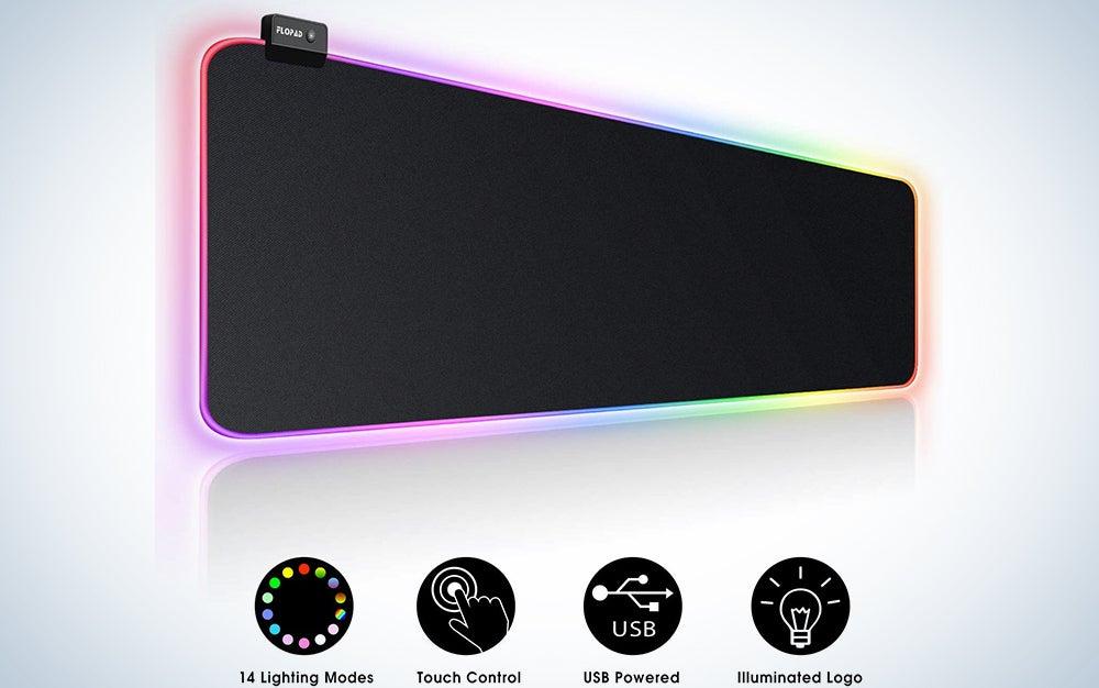 Flopad Large RGB Gaming Mouse Pad