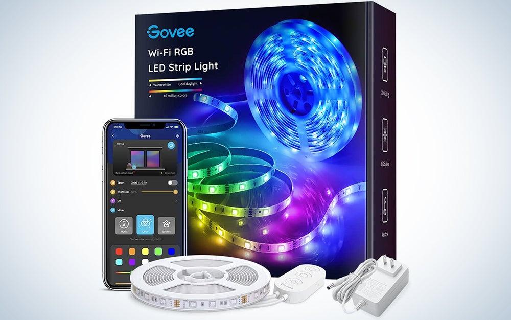 Govee Smart WiFi LED Strip Lights Works with Alexa, Google Home