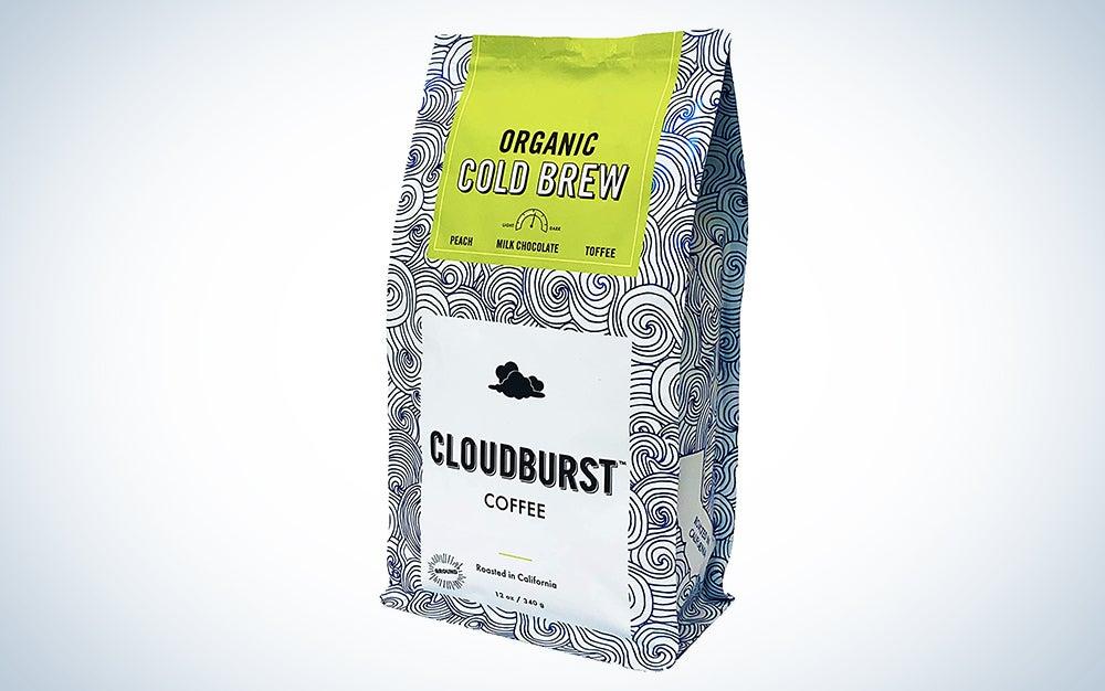 Cloudburst Organic Cold Brew Coffee