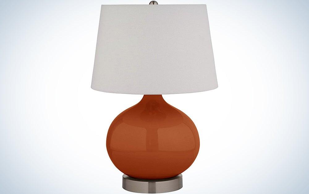 Stone & Beam Round Ceramic Table Desk Lamp
