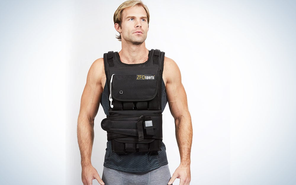 ZFOsports Weighted Vest 30lbs - 80lbs