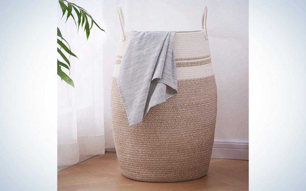 Oiahomy Woven Laundry Hamper