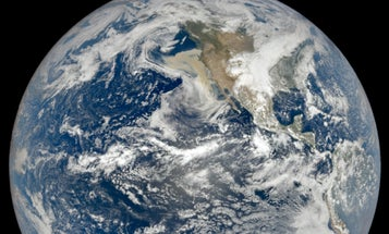 West Coast wildfire smoke is visible from outer space
