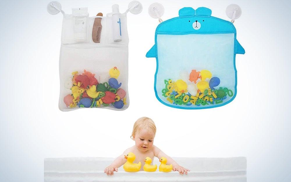 Sukaswi 2 Mesh Bathtub Toy Organizer