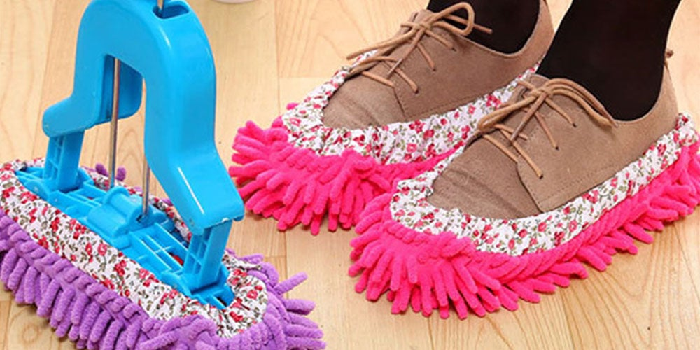 Lazy Maid Quick-Mop Slippers: 3-Pack