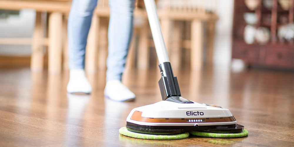 Elicto ES-530 Electronic Cordless Spin Mop & Polisher