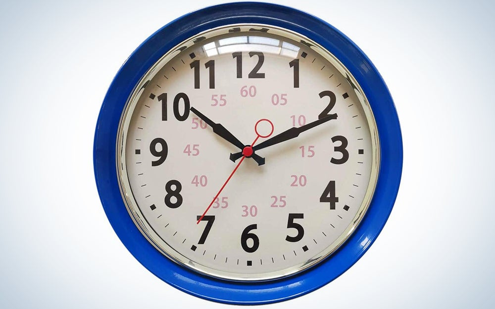 Metal Retro Vintage Wall Clock