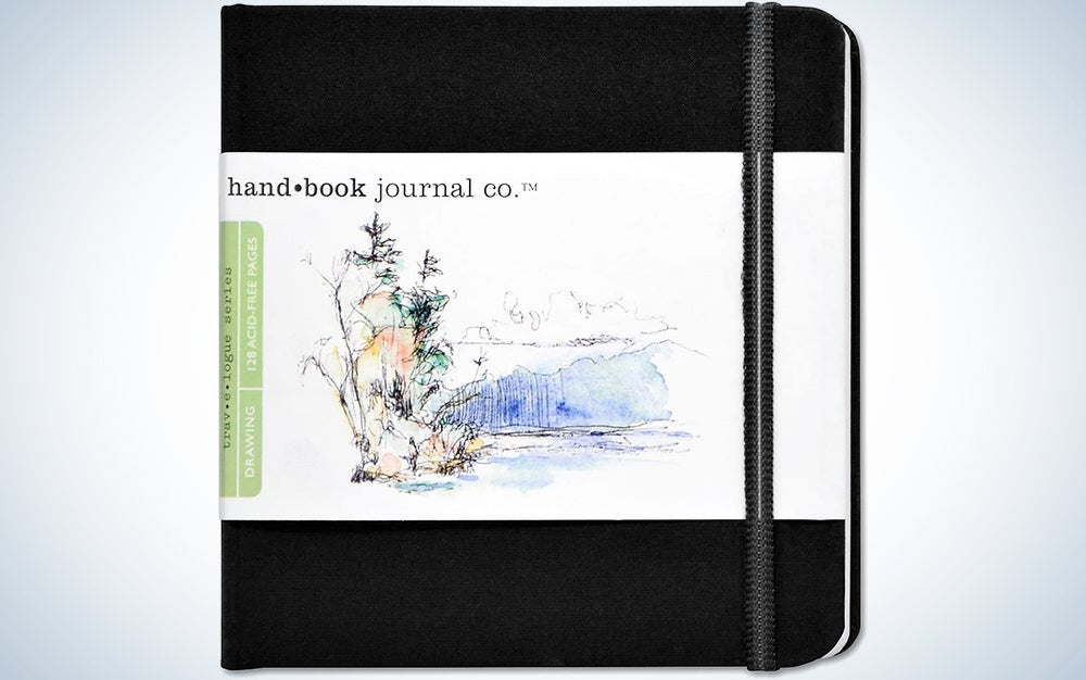 Travelogue Drawing Book