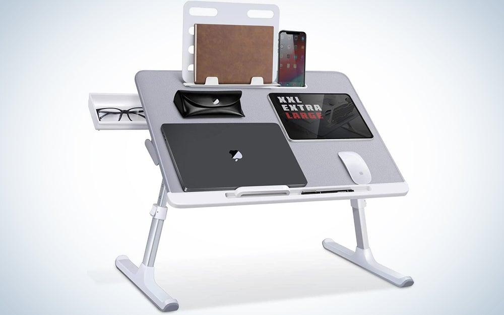 SAIJI Laptop Bed Tray Table