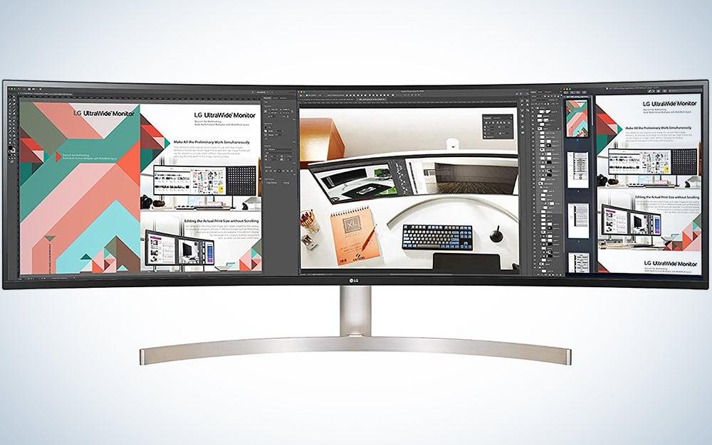LG 34WL85C-B 34 Inch UltraWide Curved WQHD IPS Monitor with HDR 10,Black