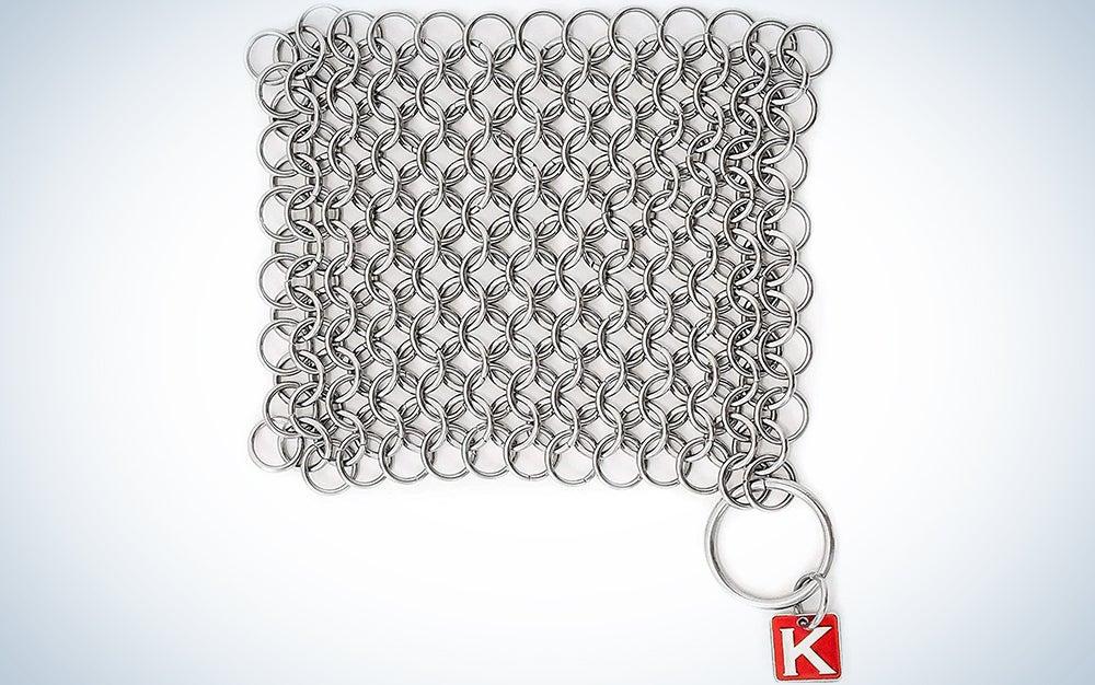Knapp Made Original CM Scrubber 4″ Chainmail Scrubber
