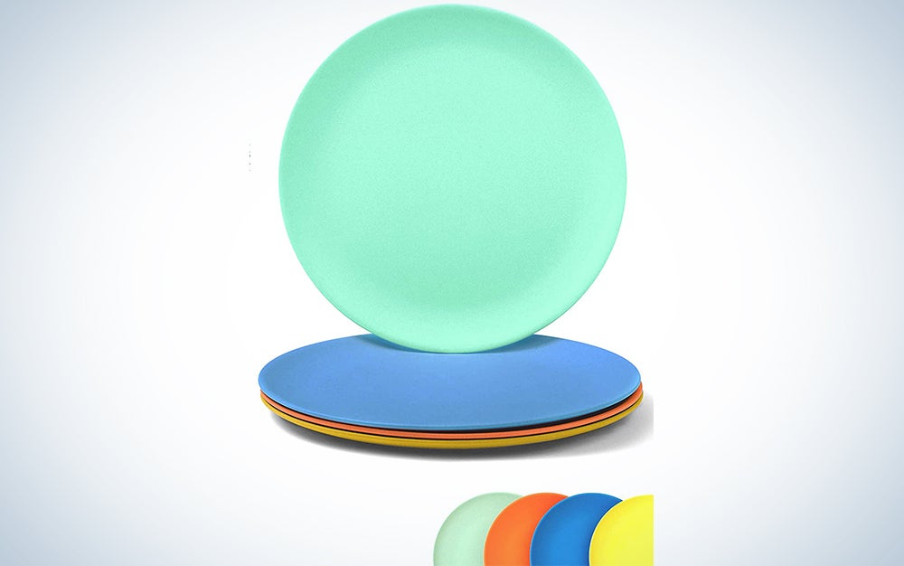 Eco Matters Bamboo Toddler Plates