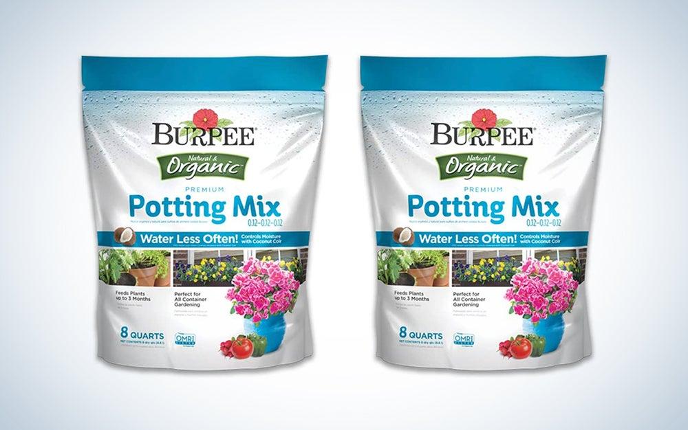 Burpee Organic Premium Potting Mix