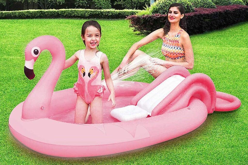 SunClub Inflatable Play Pool