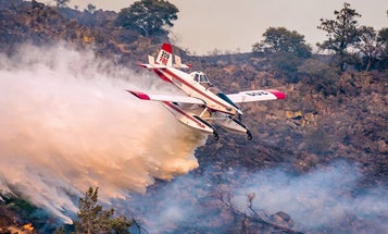 West Coast states are calling in all their best planes and helicopters to fight fires