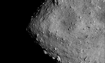 Bright rocks on Ryugu reveal the asteroid's violent past