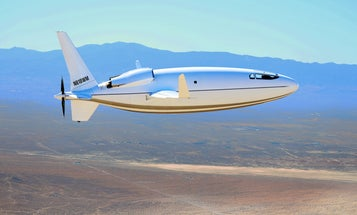 This weird-looking plane could someday be a fast, clean option for air travel