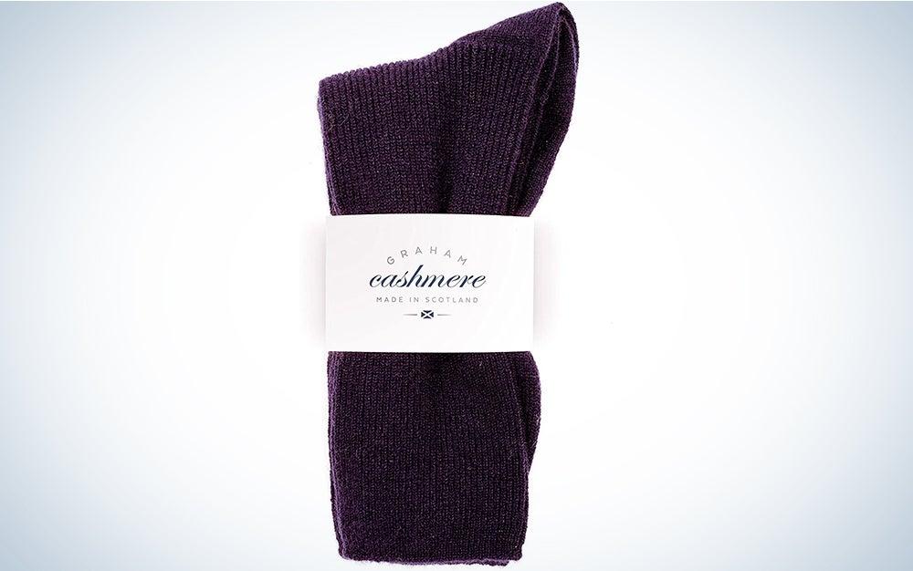 Graham Cashmere Socks