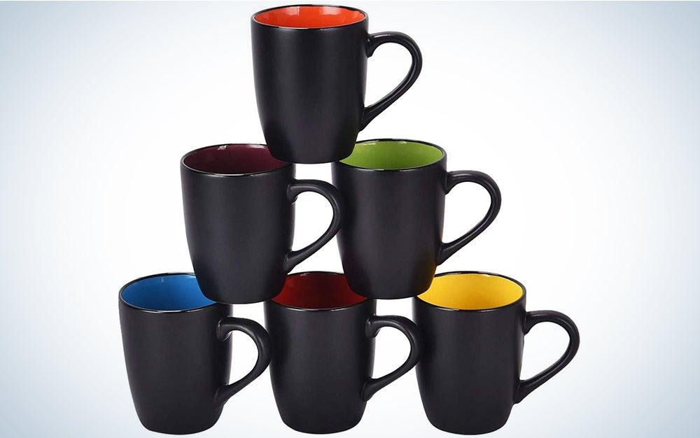 Lifecapido Set of 6 Coffee Mugs