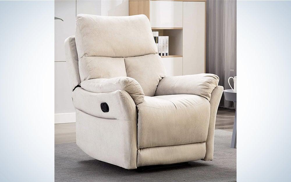 ANJ Manual Fabric Recliner Chair