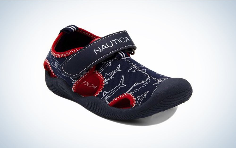 Nautica Kids Kettle Gulf Protective Water Shoe,Closed-Toe Sport Sandal